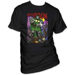 Fantastic 4 Four Dr Doom Marvel Comic T shirt tee top