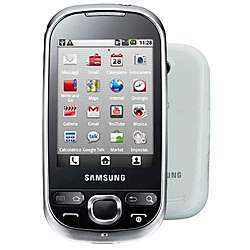 Samsung Galaxy 5 Unlocked GSM White Cell Phone