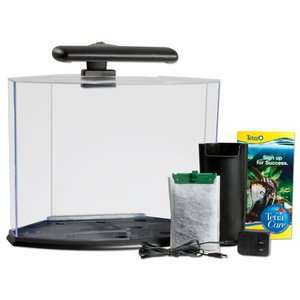 Tetra 5 Gallon Crescent Aquarium System Fish
