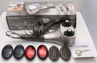 Homedics Therapist Select Wave Action Massager w/ Heat WV 100H