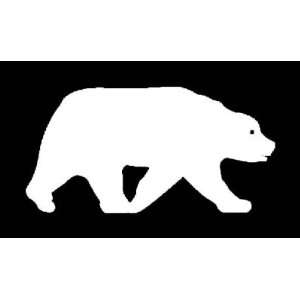 BEAR SILHOUETTE Vinyl Sticker/Decal (Animal,wild