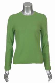 Sutton Studio Womens 100% Cashmere Crewneck Sweater