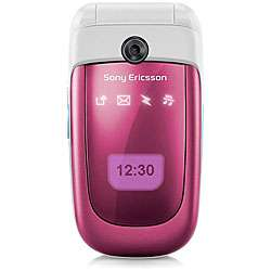 Sony Ericsson Z310 Pink Unlocked GSM Flip Cell Phone