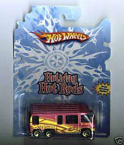 Hot Wheels Holiday Hot Rods GMC Motorhome 2008