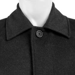Kenneth Cole New York Mens Wool/ Cashmere Overcoat