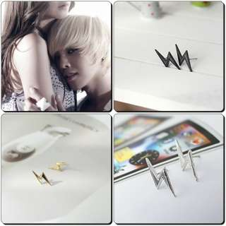 KOREAN BIGBANG G Dragon STYLE Earrings lightning 3 type