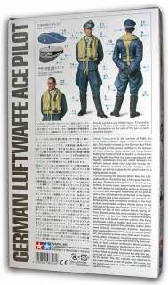 WWII Luftwaffe ACE FIGHTER PILOT 1/16 Tamiya #36302 NEW