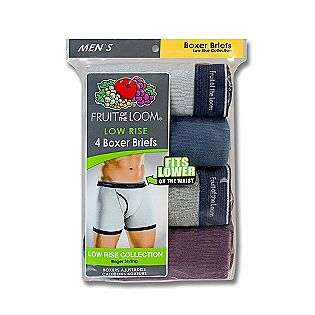 Mens Boxer Brief   Assorted Color 4 pack  Fruit of the Loom Clothing