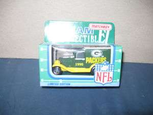 Green Bay Packers ,1990 Matchbox NFL Truck