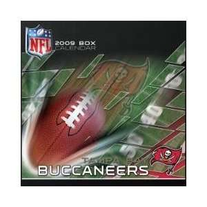 TAMPA BAY BUCCANEERS 2009 NFL Daily Desk 5 x 5 BOX