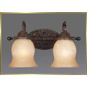 Wrought Iron Wall Sconce, JB 7214, 2 lights, Renaissance