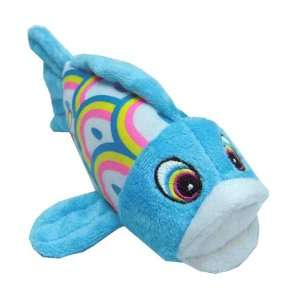 Happy Puppy Plush Dog Toy   Koi Fish Calla Squeaker Toy