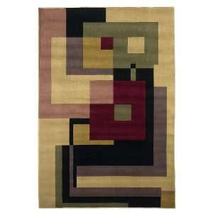 Moda 6924 Beige Geometrics Contemporary Design Area Rugs 7