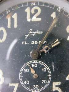 WWII German Luftwaffe (ME 109) Junghans aircraft watch