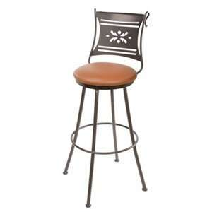 Stone County 902 752 LTN Bistro Bar Stool, Natural Black