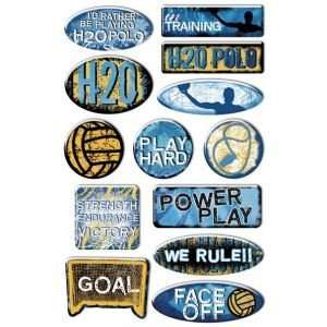 Epoxy Sticker Water Polo Arts, Crafts & Sewing