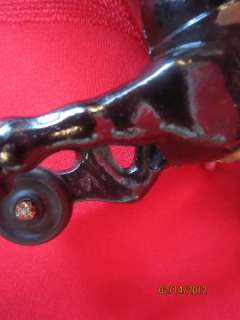 ORIGINAL KENTON CAST IRON HORSE DRAWN TOY MILK WAGON TRUCK CARRIAGE