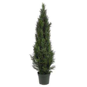Nearly Natural 5 Ft. Mini Cedar Pine Silk Tree 5291