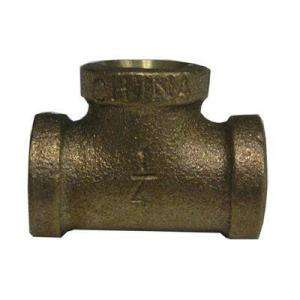 Watts 1/2 In. Brass FIP Tee A 808