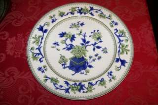 Royal Worcester Bone China Dinner Plate 546206 Wiley Blue Green