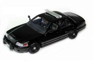 Ford Crown Victoria Special Service Police Car 1/24 BLK