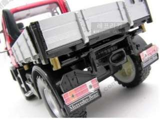 New Mercedes Benz UNIMOG U400 SUV124 Alloy Diecast Model car Red
