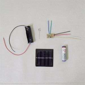 Solar Lawn Light DIY assembling Kit Educational Kit