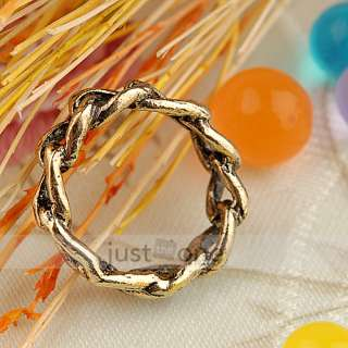 Jewelry Women Lady Girl Unadjustable Finger Ring US Sz 6 1/2