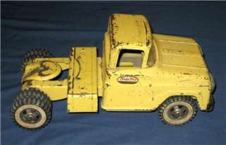 Vintage TONKA MOTOR TRANSPORT Truck Trailer CAR TRANSPORTER Carrier