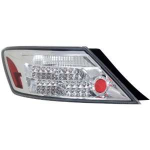 Anzo USA 321108 Honda Civic Chrome LED Tail Light Assembly   (Sold in