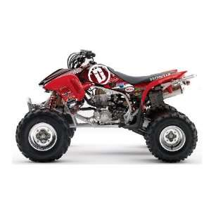 Honda TRX450R DeRisi Racing ATV Graphic Kit (Red) (2004
