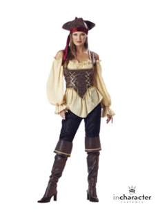 Rustic Pirate Lady Elite Womens Pirate Costume at Wholesale Prices