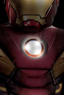Marvel Avengers Movie Iron Man Mark VII Muscle Light Up Child Costume