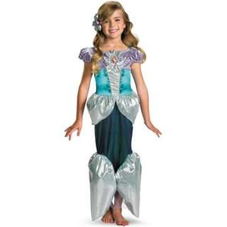 Disney Princess   Ariel Lame Deluxe Toddler / Child Costume   Includes