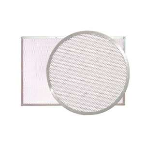 23 5/8 Inch Aluminum Perforated Pizza Baking Sheet
