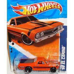 2011 Hot Wheels Muscle Mania 11   #4/10 68 Orange EL CAMINO
