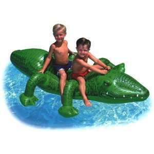 Kids Inflatable Gator Pool Ride On Toys & Games