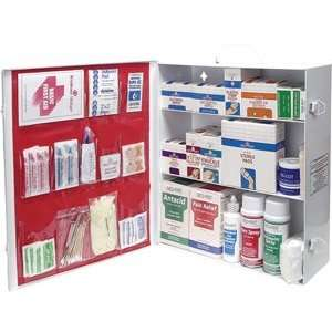 First Aid Kit Cabinet Three Shelf Medique   885 pcs