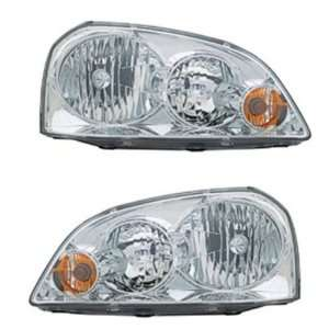 Forenza Headlights Headlamps Head Lights Lamps Pair Set Automotive