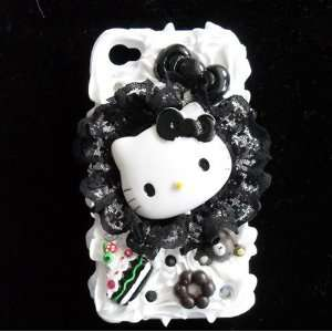 Hello Kitty 3d Cake Ice Cream Hard Back Cover Cases Skins