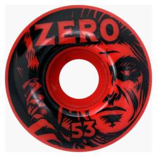 Zero Skateboards Thomas Warrior Spirit 53mm Red (4 Wheel