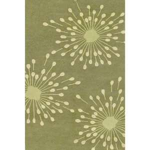 Mills Sparkler Green Indoor/Outdoor Rug   5 x 8   HRSPP5   5 x 8