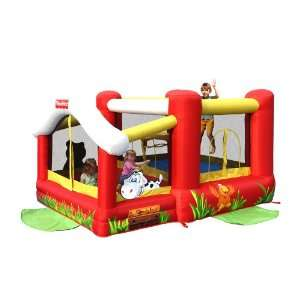 Barnyard Friends Inflatable Bounce House Bouncer Toys & Games