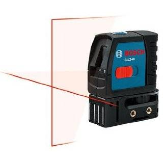 Bosch GLL2 40 Self Level Cross Line Laser, Up To 30 Feet