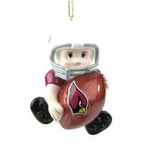 Pack of 8 NFL Arizona Cardinals Lil Fan Football Player Christmas
