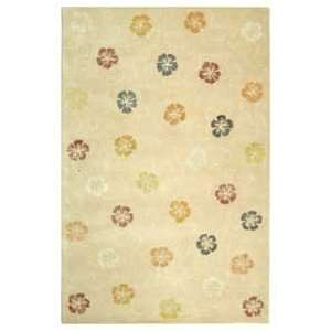 com Martha Stewart MSR3267A Blush and Beige Country 6 x 6 Area Rug