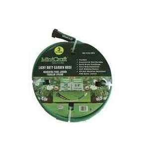 Light Duty 3 Ply PVC Garden Hose, 5/8 x 25 Patio, Lawn & Garden