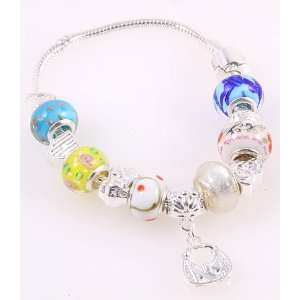 Fashion Jewelry Desinger Murano Glass Bead Bracelet with