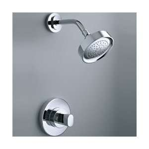 CP/K 304 K Oblo Single Handle Shower Faucet   Chrome