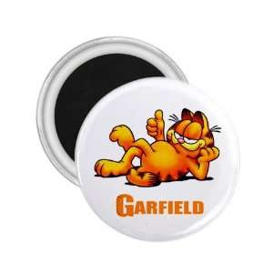 Garfield Souvenir Magnet 2.25  Everything